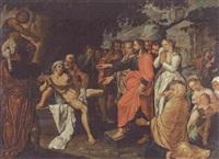 die auferweckung des lazarus by pieter lastman