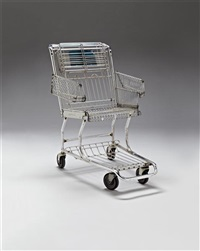 shopping cart chair by tom sachs