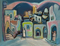 figures in safed by mordecai arieli