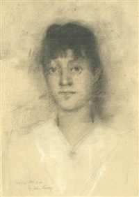 portrait of mrs heseltine by john lavery