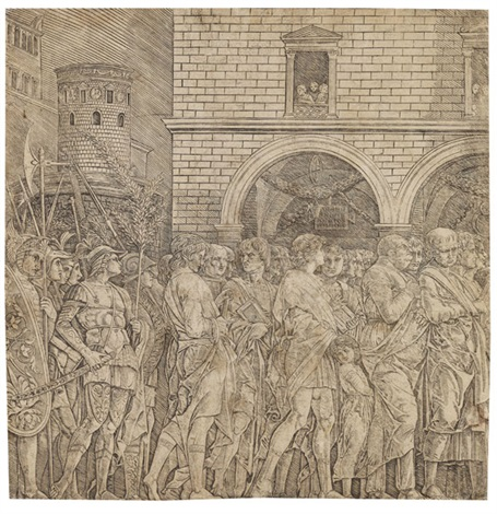 schule die senatoren by andrea mantegna