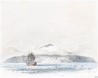 the largest island of tristan de cunha by william alexander