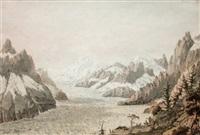 la mer de glace du montenvert by jean-françois albanis de beaumont