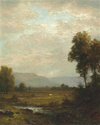 pastoral landcape by john william casilear