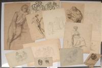 études de personnages (16 studies) by françois joseph navez