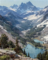 high country lakes by clyde aspevig
