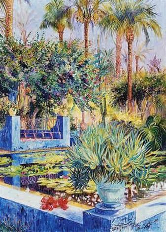 les jardins de majorelle by dan poncet