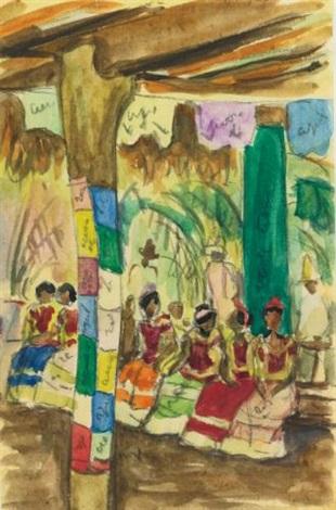 fiesta en tehuantepec by diego rivera