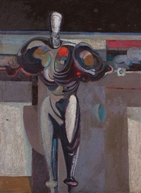abstract figure by ernest walter smith