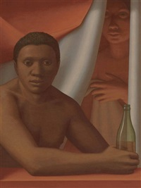 window x by george tooker