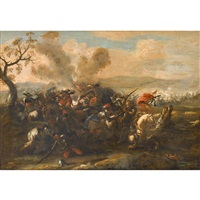 military skirmish by jacques courtois