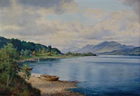 loch lomond by george melvin rennie