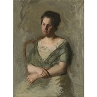 mrs. william shaw ward by thomas eakins