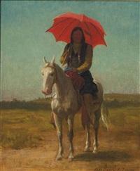 horseman, anadarko, oklahoma by julian scott