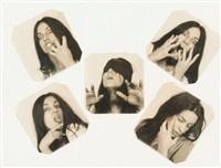 quintuple autoportraits (set of 5) by annette messager