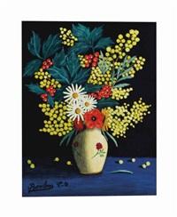 fleurs dans un vase by camille bombois