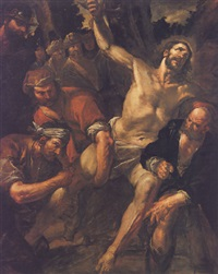 the martyrdom of saint bartholomew by gioacchino assereto