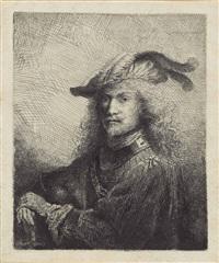 portrait of an officer by ferdinand bol