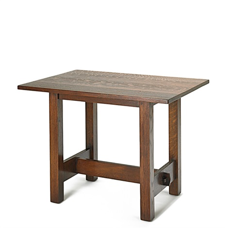 luncheon table no 647 by gustav stickley