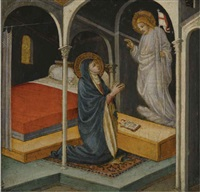 christ appearing to his mother by lippo d'andrea (ambrogio di baldese)