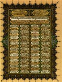 liste des chefs indigènes by mohammed racim