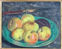 l'assiette de pommes by paul de laboulaye