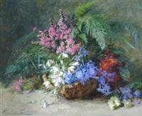 panier fleuri by pauline caspers