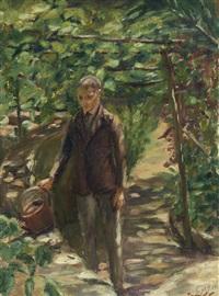 figura masculina a regar by antonio ezequiel pereira