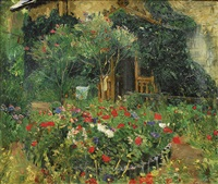 in the garden by louis lejeune