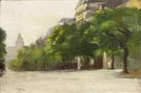 boulevard des invalides by joseph louis lépine