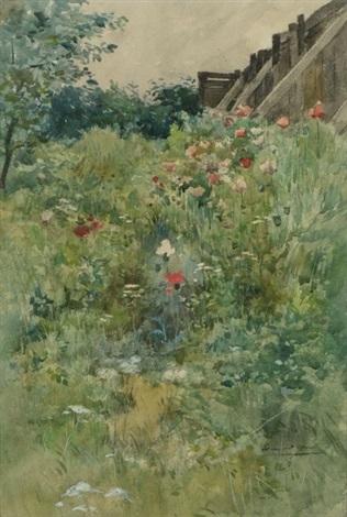 Le prè fleuri by Edmond Charles Joseph Yon on artnet