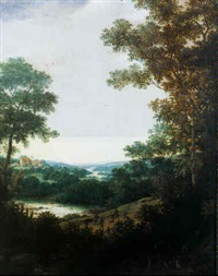 indians hunting in a brazilian landscape by frans jansz post