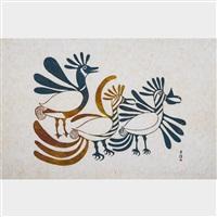 bright plumage by kenojuak ashevak