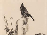 raven and bamboo by niu shihui