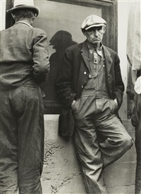 no work, calipatria, february 25 by dorothea lange