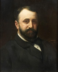 portrait d'homme by vlacho bukovac