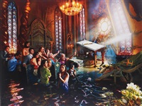 cathedral, los angeles by david lachapelle