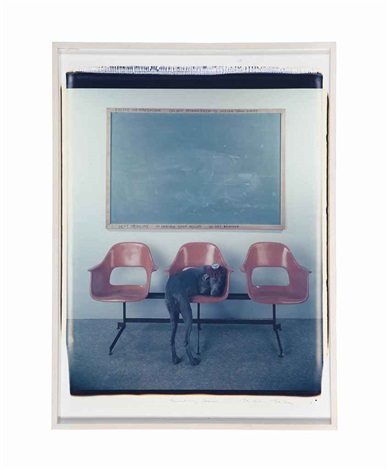 waiting room by william wegman