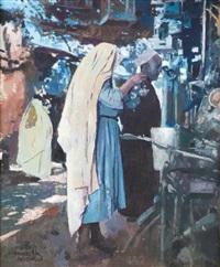 le souk couvert marrakech by jacques majorelle