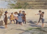 kinderspiele by ede lengyel-reinfuss