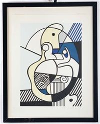 homage to max ernst by roy lichtenstein