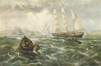 homeward-bound for plymouth sound by thomas rose miles