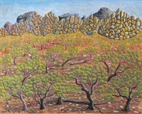 rocky ridge by henri bastin