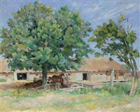 farm in the crimea by alexei alexandrovich kolosov