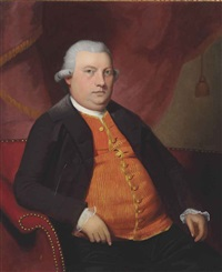 portrait of mr. loganbank by ralph earl