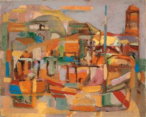 le port de collioure by josé maría pelayo