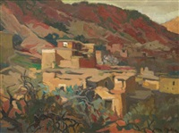 kasbah du sud marocain by jean dulac