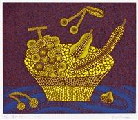 果物かご(2) (fruit basket (2)) by yayoi kusama