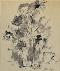 bouquet de fleurs by jean dufy