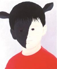 ox-red sweater by mayuka yamamoto